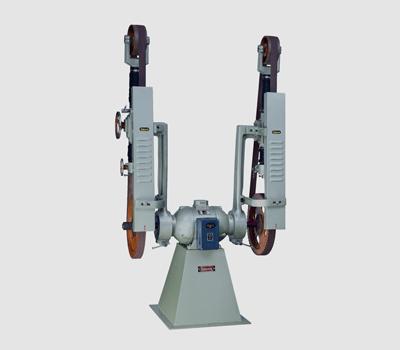 doubleside_abrasive_belt_grinder_machine